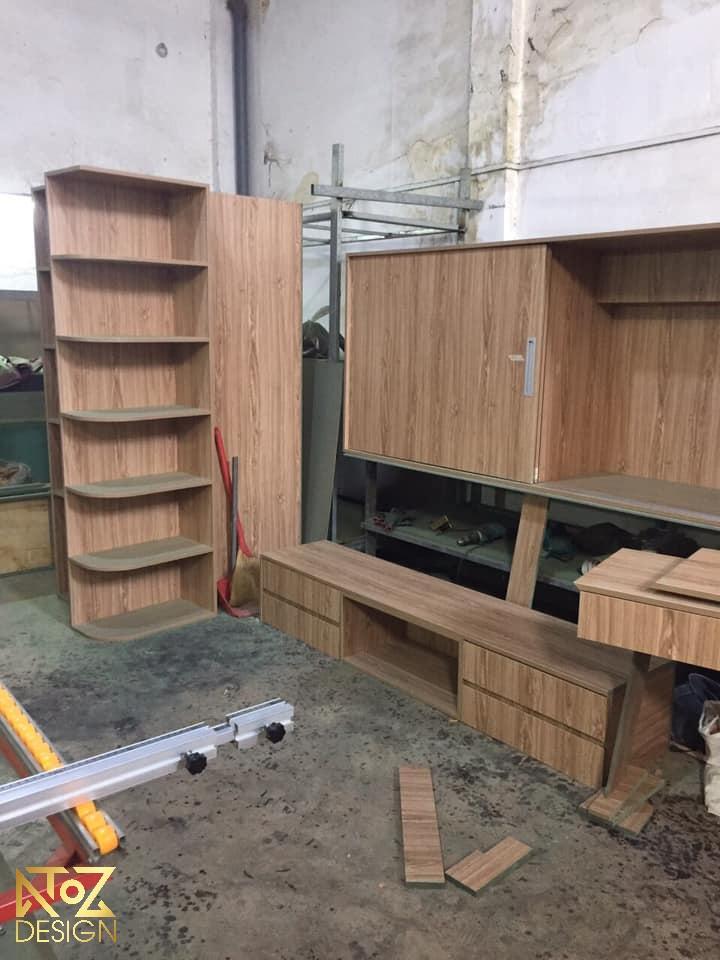 Ảnh tủ kệ bếp giá xưởng của ATOZ Design