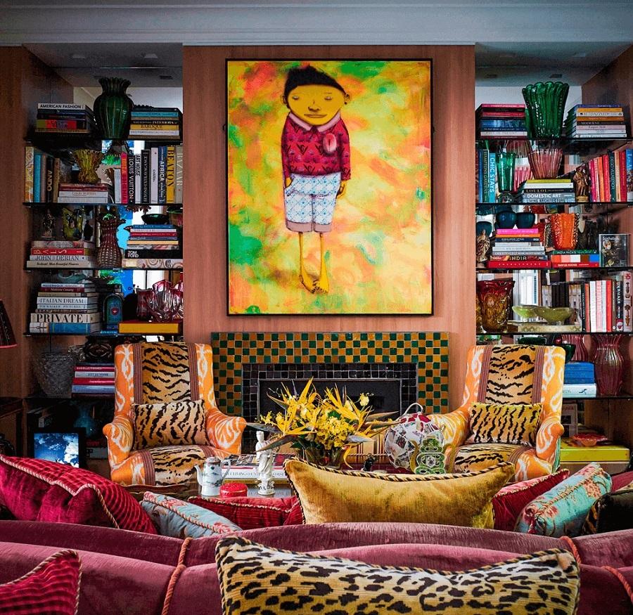 Những bức tranh hầu như không thể thiếu với không gian nội thất