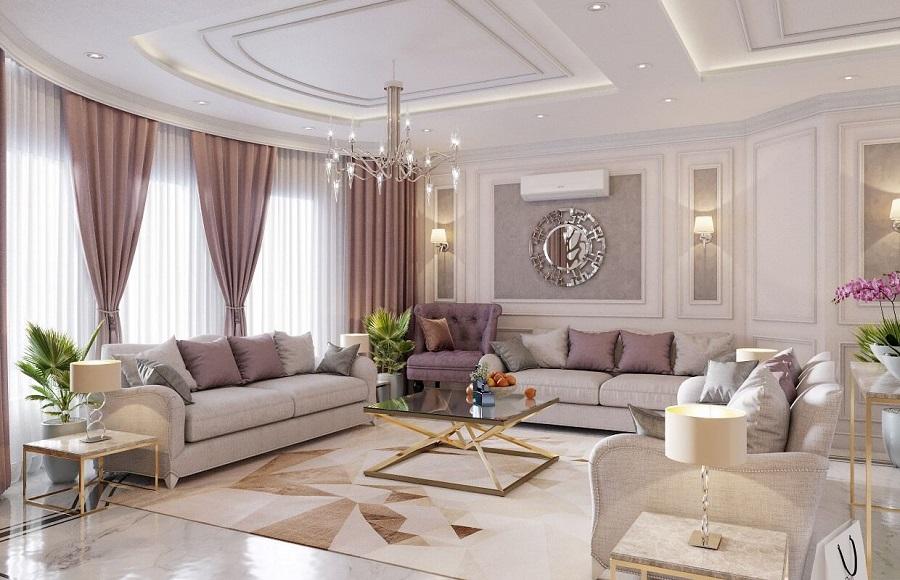 Phong cách thiết kế cổ điển mang đầy sự tinh tế và sang trọng