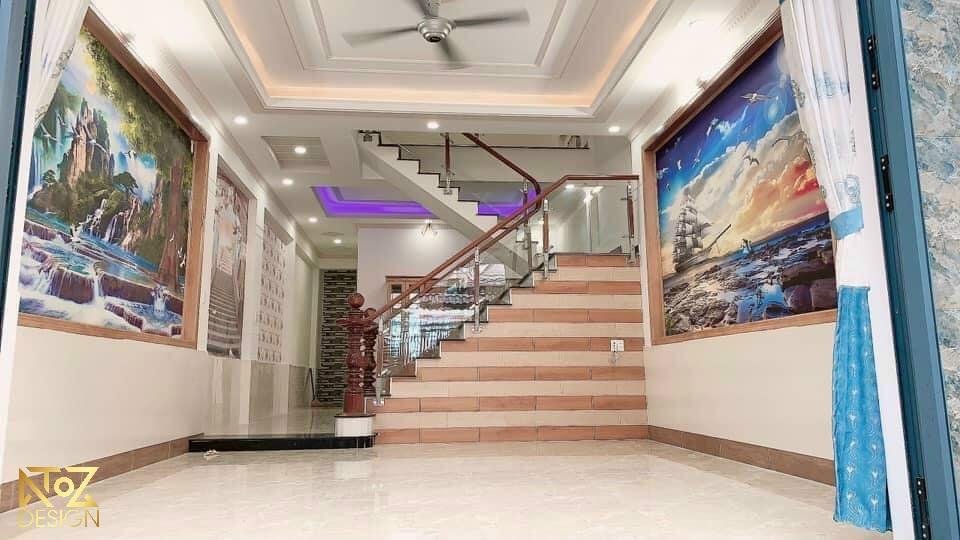 Nội thất nhà ở được thi công bởi công ty ATOZ Design