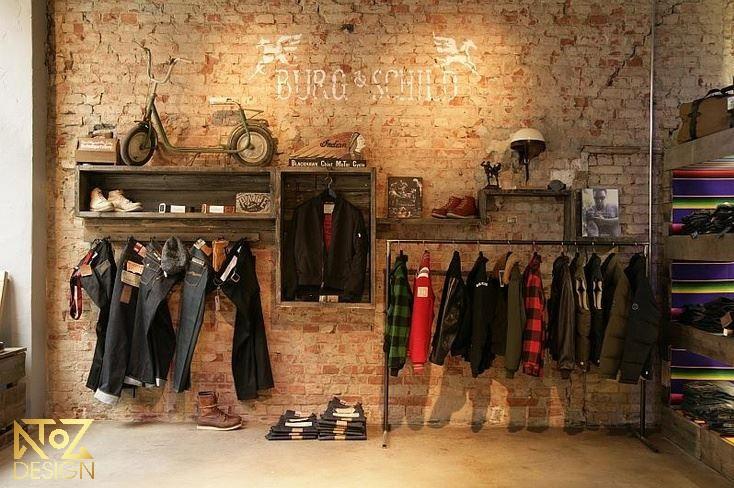 Phối cảnh thi công nội thất shop bởi ATOZ Design