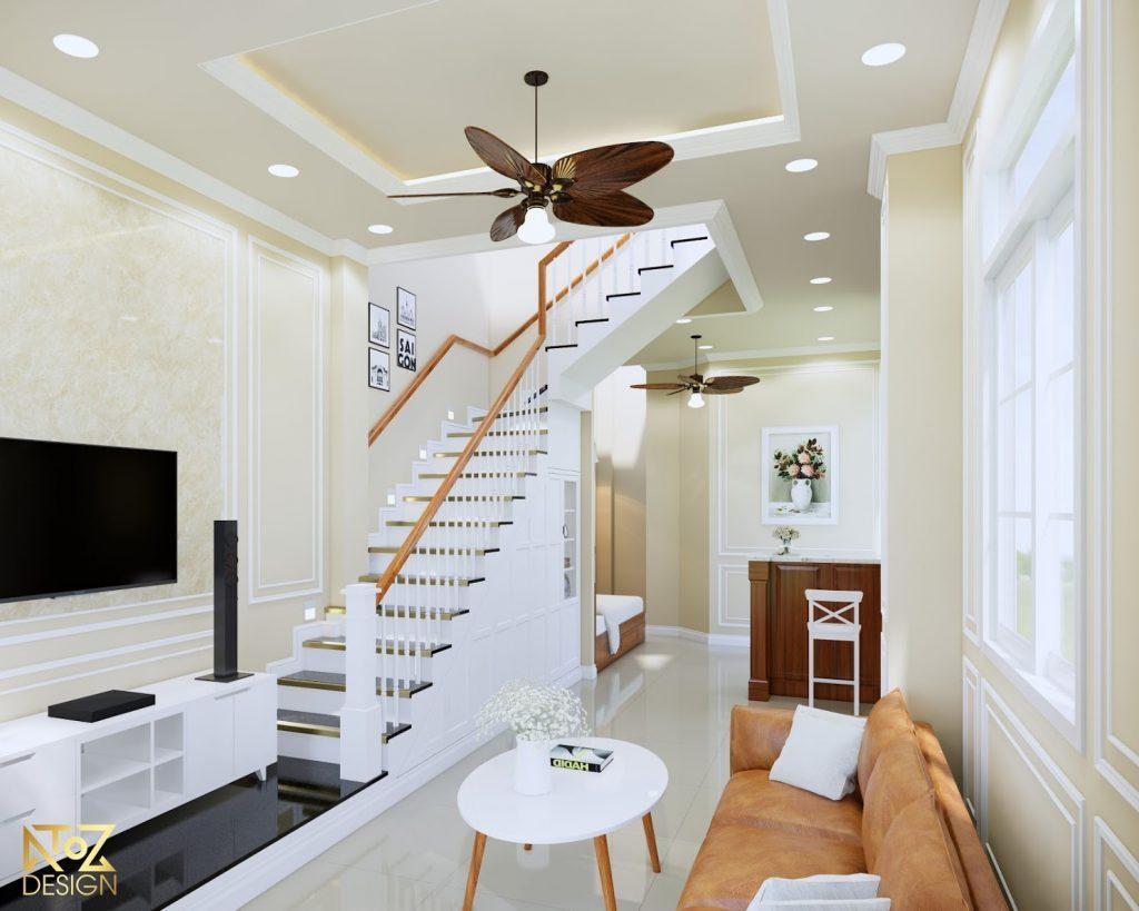 Phong cách thiết kế giúp tiết kiệm tối da diện tích căn nhà