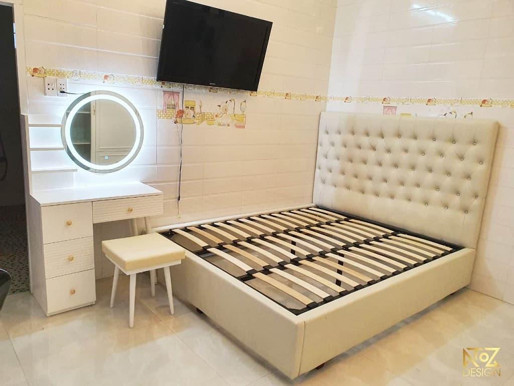 Bảng giá giường gỗ công nghiệp mới nhất