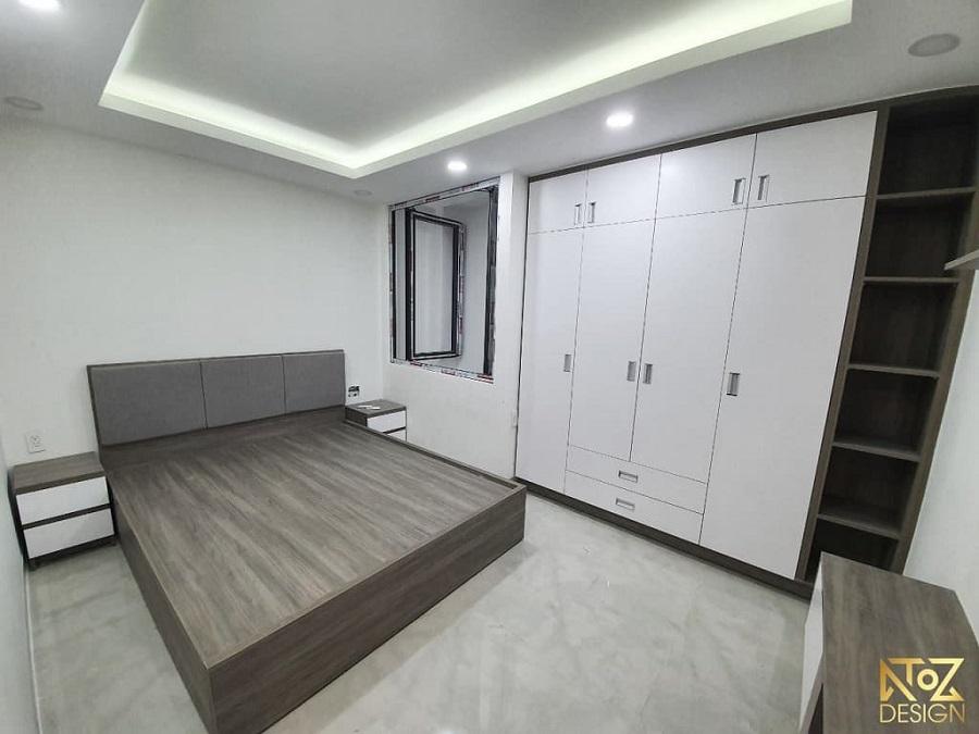MDF là loại gỗ thường được ứng dụng làm giường, tủ,..