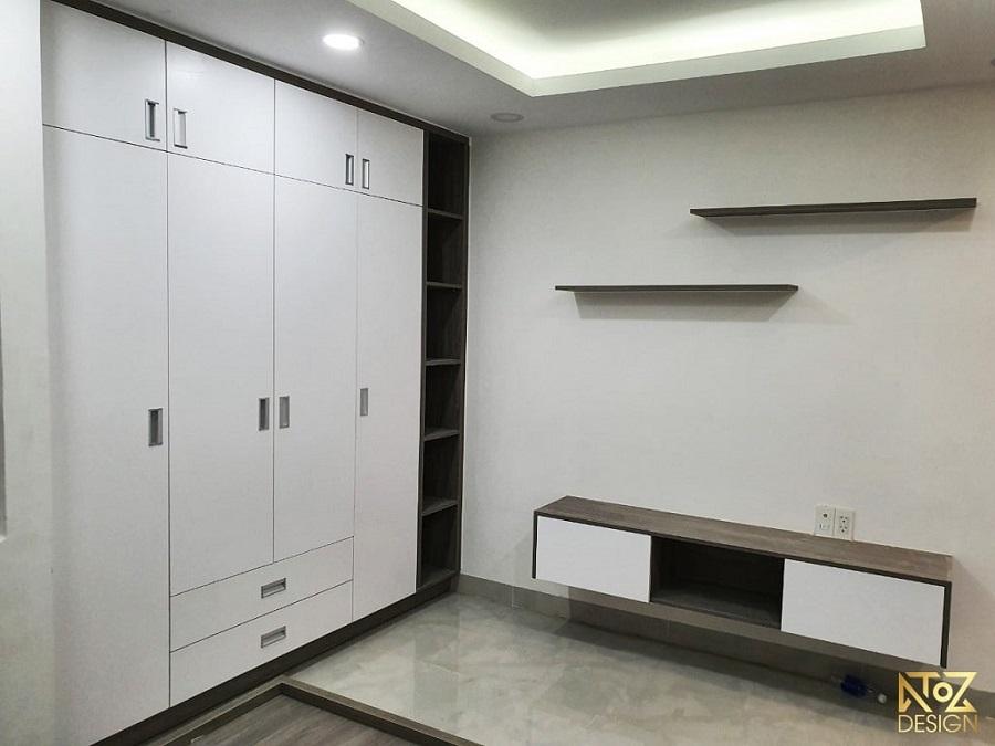 Gỗ MFC tạo nên sự sang trọng và bắt mắt với các món đồ nội thất