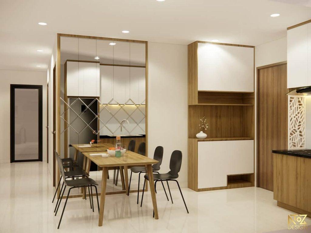 Nội thất được sản xuất bằng gỗ công nghiệp