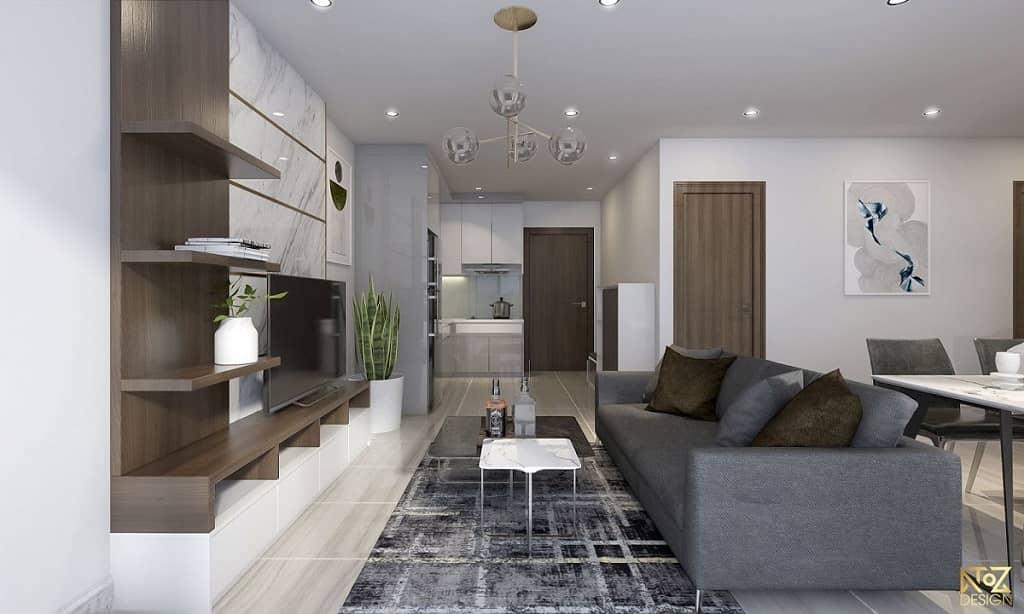 Ánh sáng tương đối quan trọng trong thiết kế nhà phố, căn hộ